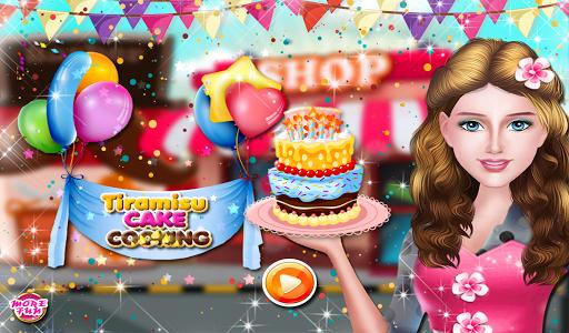 提拉米苏蛋糕烹饪游戏
