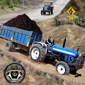 Real Tractor Trolley Cargo Farming Simulation 2 icon