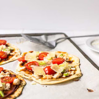 Curry Crab Flatbread Recipe