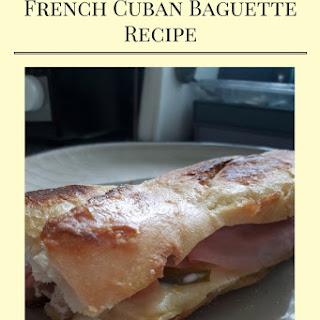 Crispy French Cuban Baguette.