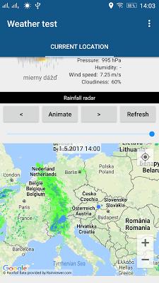 Weather & Clock Widget - screenshot