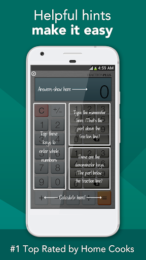 Fraction Calculator Plus Free screenshot
