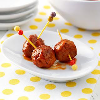 Marmalade Meatballs.