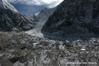Photo: Nepal Gap au fond, derrière c'est l'Inde.