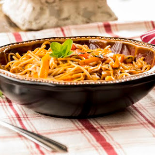 Red Curry Thai Noodles Recipe