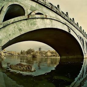 Ancient Bridge by Alit  Apriyana - Buildings & Architecture Bridges & Suspended Structures