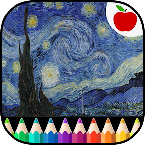 Adult Coloring Book Van Gogh for PC and MAC