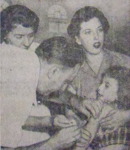 Photo: Typhoid shots were given to prevent disease.