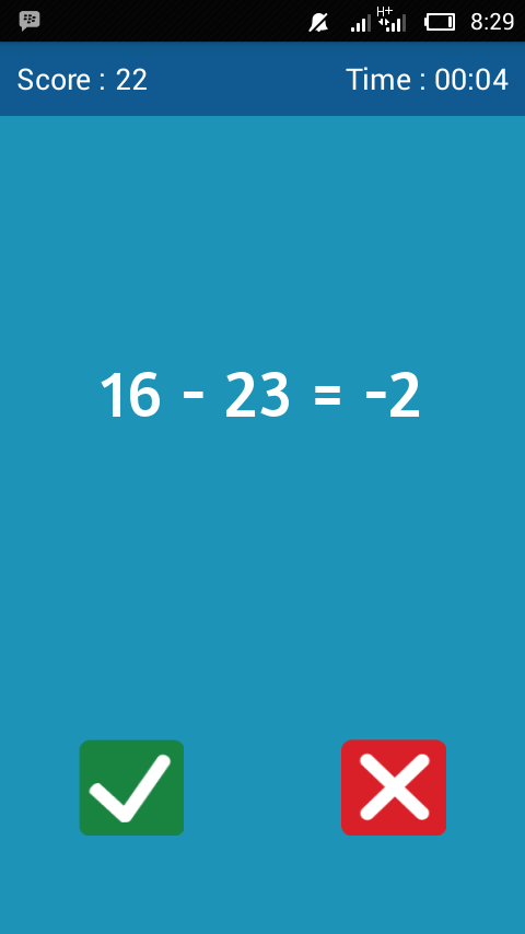Math Quiz- screenshot