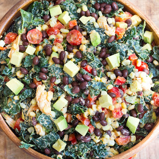 Southwestern Chicken Kale Salad Recipe