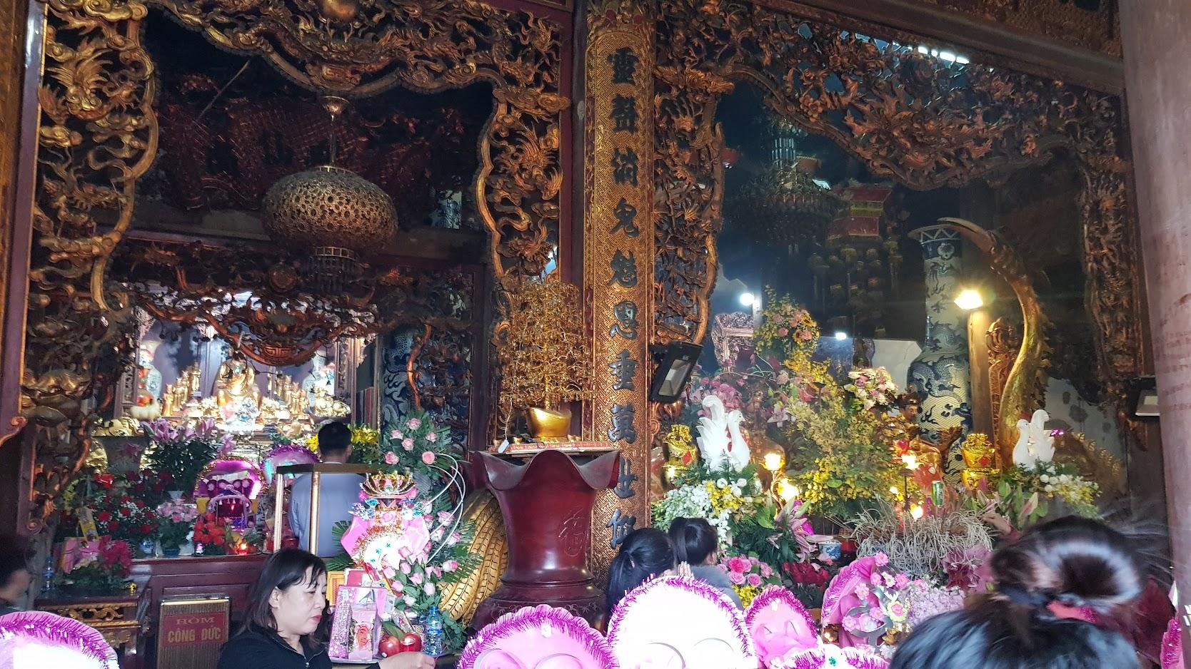 Đường đi đền Cô Chính Suối Rồng ở Đồ Sơn tại Hải Phòng 2