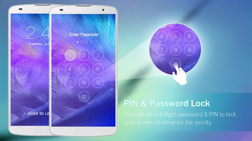 Lock Screen Galaxy Theme screenshot 18