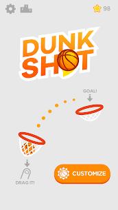 Dunk Shot MOD (Unlimited Money) 1