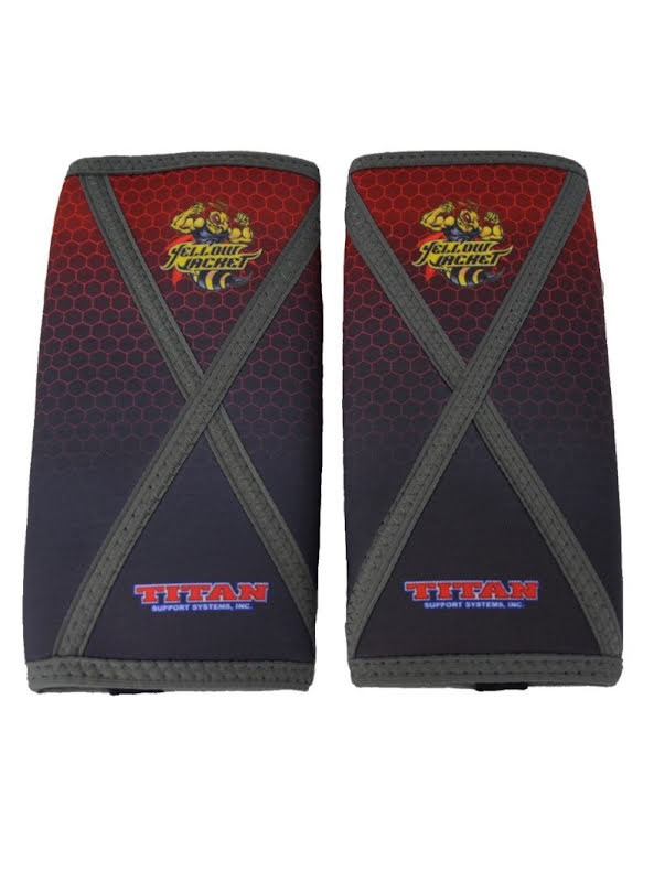 TITAN Yellow Jacket Knee Sleeves Sublimated