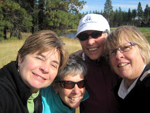Photo: Janet, Vicky, Jane, Linda at Rope Rider
