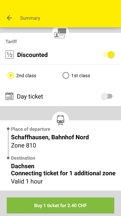 Flexi Ticket- screenshot