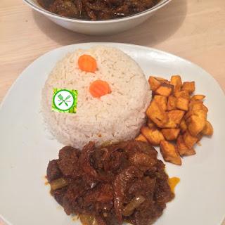 Spicy Fried Stew.