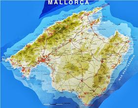Photo: Mapa de Mallorca