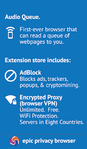 Epic Privacy Browser with AdBlock, Vault, Free VPN Apk Download For Android 2