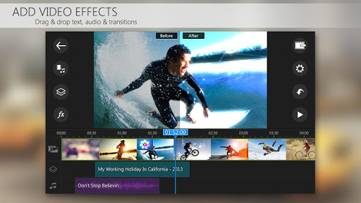 PowerDirector Video Editor App: 4K, Slow Mo & More game (apk) free download for Android/PC/Windows screenshot