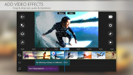 PowerDirector Video Editor App, Best Video Maker APK screenshot thumbnail 4