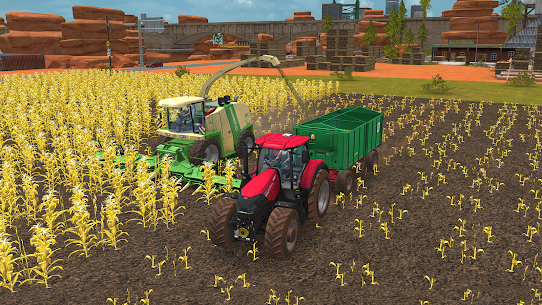 Farming Simulator 18 1.1.0.1 CRACKED Apk + DATA 6