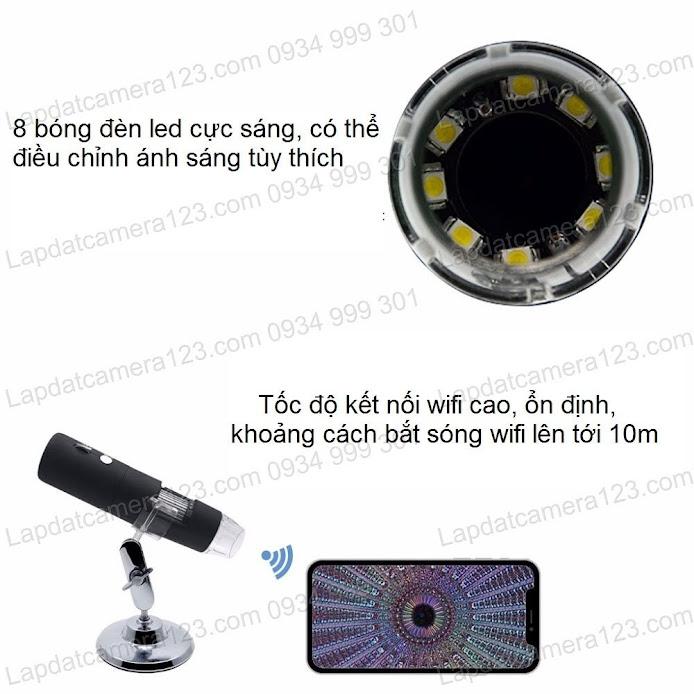 camera kính hiển vi