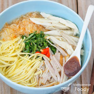 Hanoi Special Rice Noodle Soup (Bun Thang Recipe).