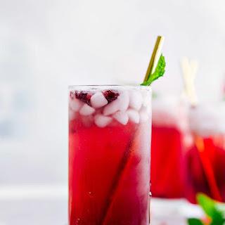 Sparkling Pomegranate Lemonade.