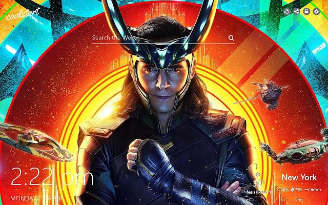 Loki HD Wallpapers Thor Marvel New Tab