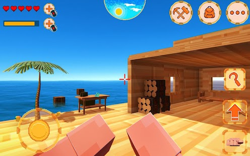 Ocean Raft 3D - PRO Screenshot