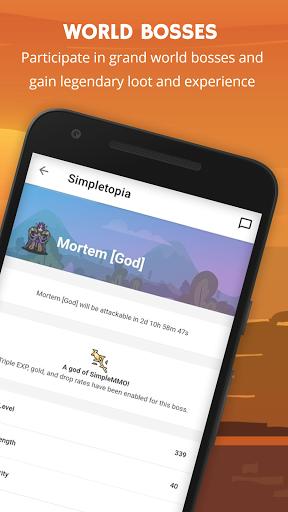 SimpleMMO - The Lightweight MMO apktram screenshots 3