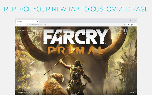Far Cry Primal Wallpaper NewTab freeaddon.com