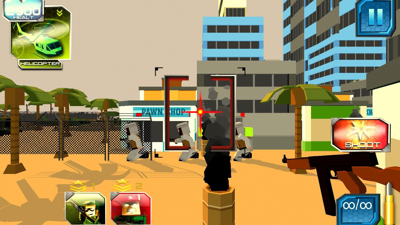 Blocky Sniper- screenshot