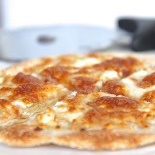 "Skinny White ""Alredo"" Pizza"