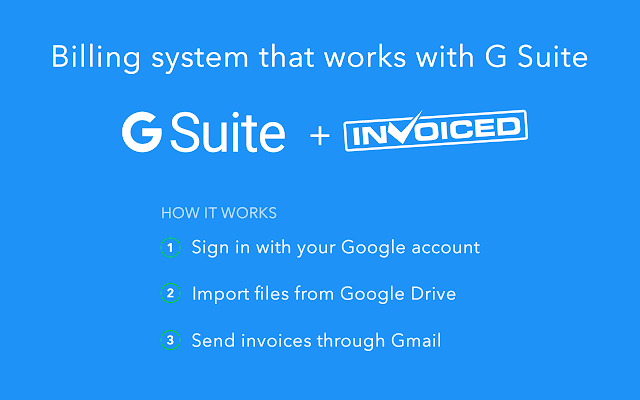 invoiced g suite marketplace
