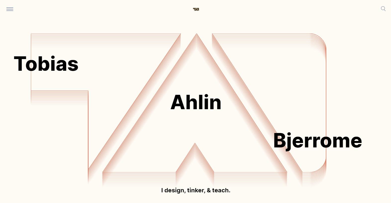 Tobias Aglin's personal website