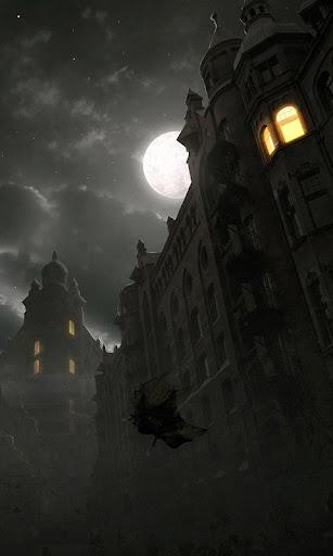 暗い街のシーン lwp