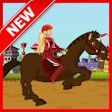 Emma Horse Ride : Girl Game icon