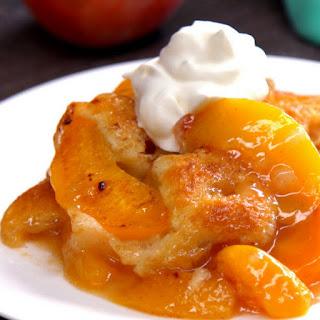 Peach Cobbler.