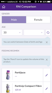 Nutricia Dietetic App- screenshot thumbnail