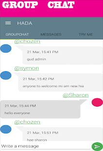 HADA CHAT,DATE,MEET,PEOPLE - náhled