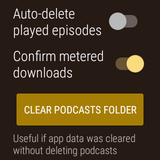 NavCasts - Wear Podcast Player- screenshot