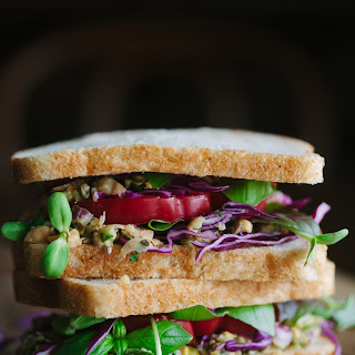 Summery White Bean Tuna Sandwich.