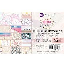 Prima Journaling Card 4X6 45/Pkg - Golden Coast UTGÅENDE