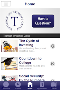 Thomson Investment Group- screenshot thumbnail