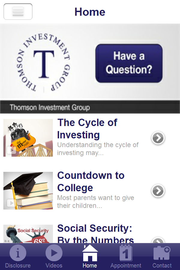 Thomson Investment Group- screenshot