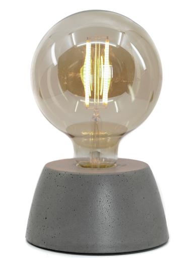 LAMPE EN BÉTON GRIS DESIGN