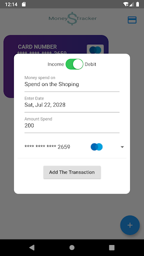 Money Tracker screenshot 2