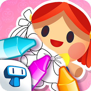 My Coloring Book: Girls - Cute Drawing Game